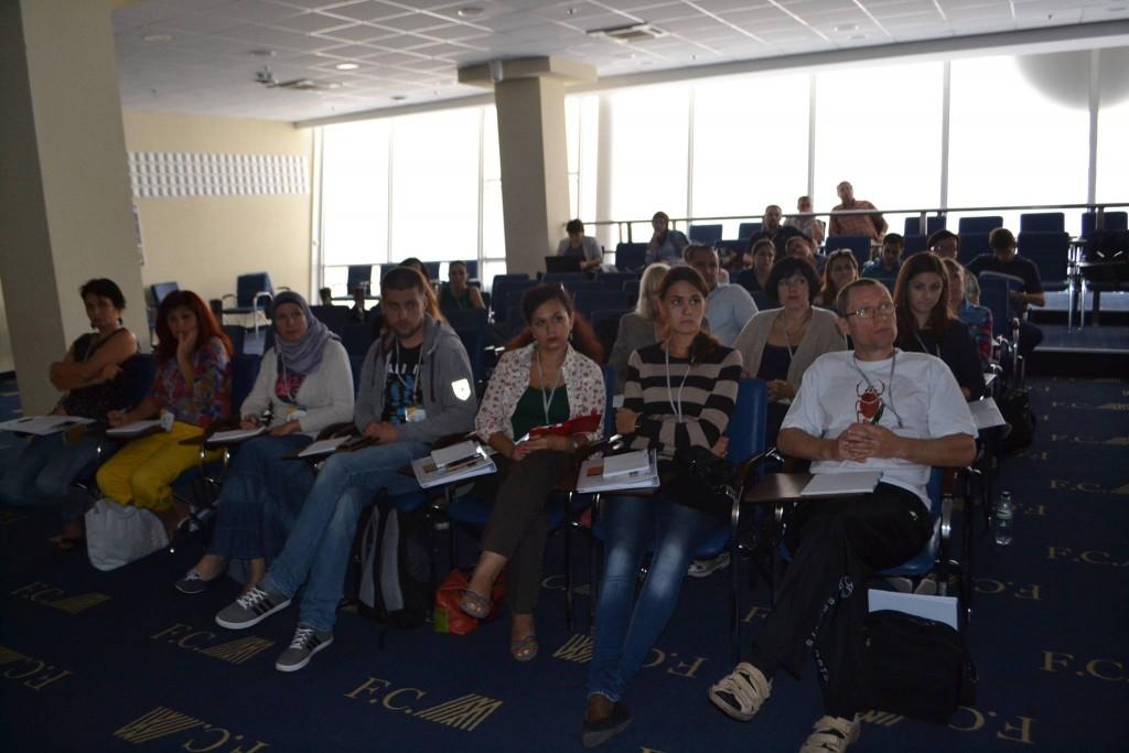 Лекція Олександра Зінченка захопила учасників
