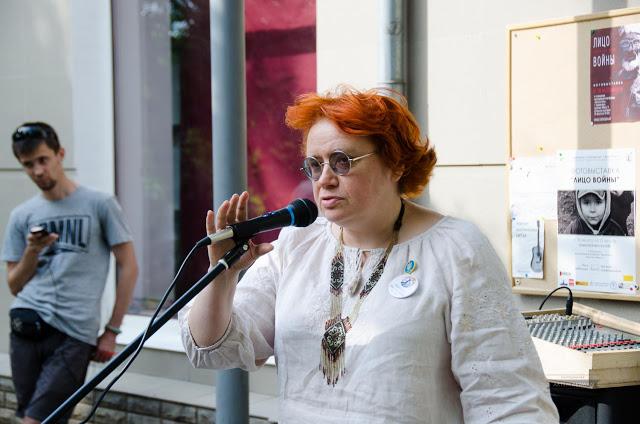 Наталя Зубар, координатор Української миротворчої школи