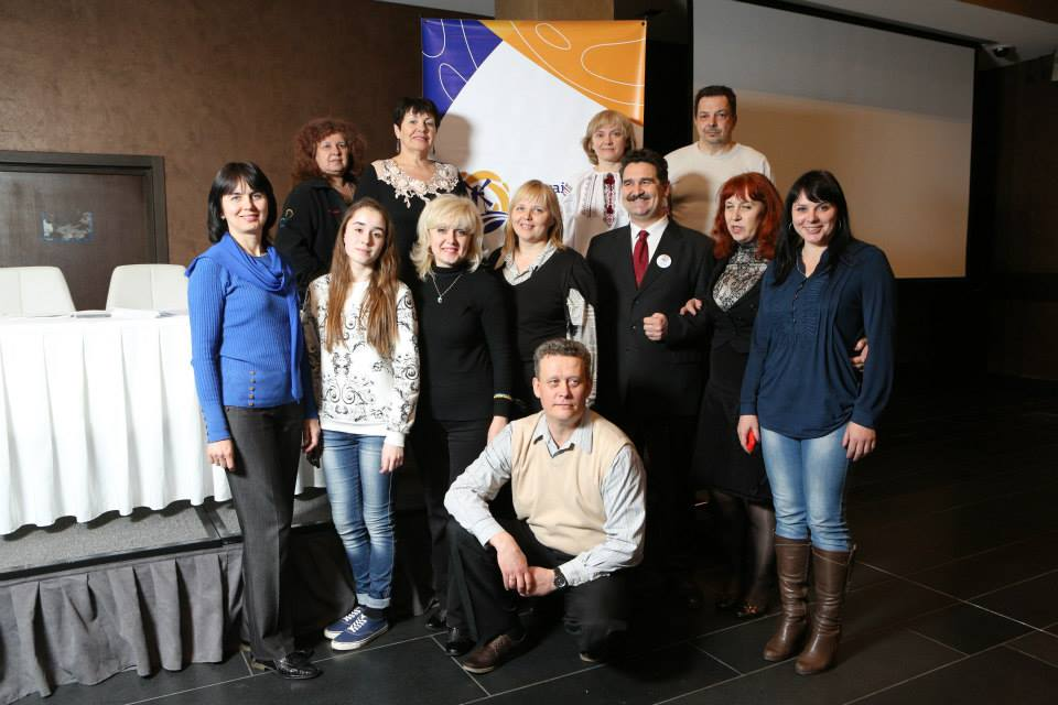 Олена і Валентина учасниці першої сесій Української миротворчої школи у Харкові