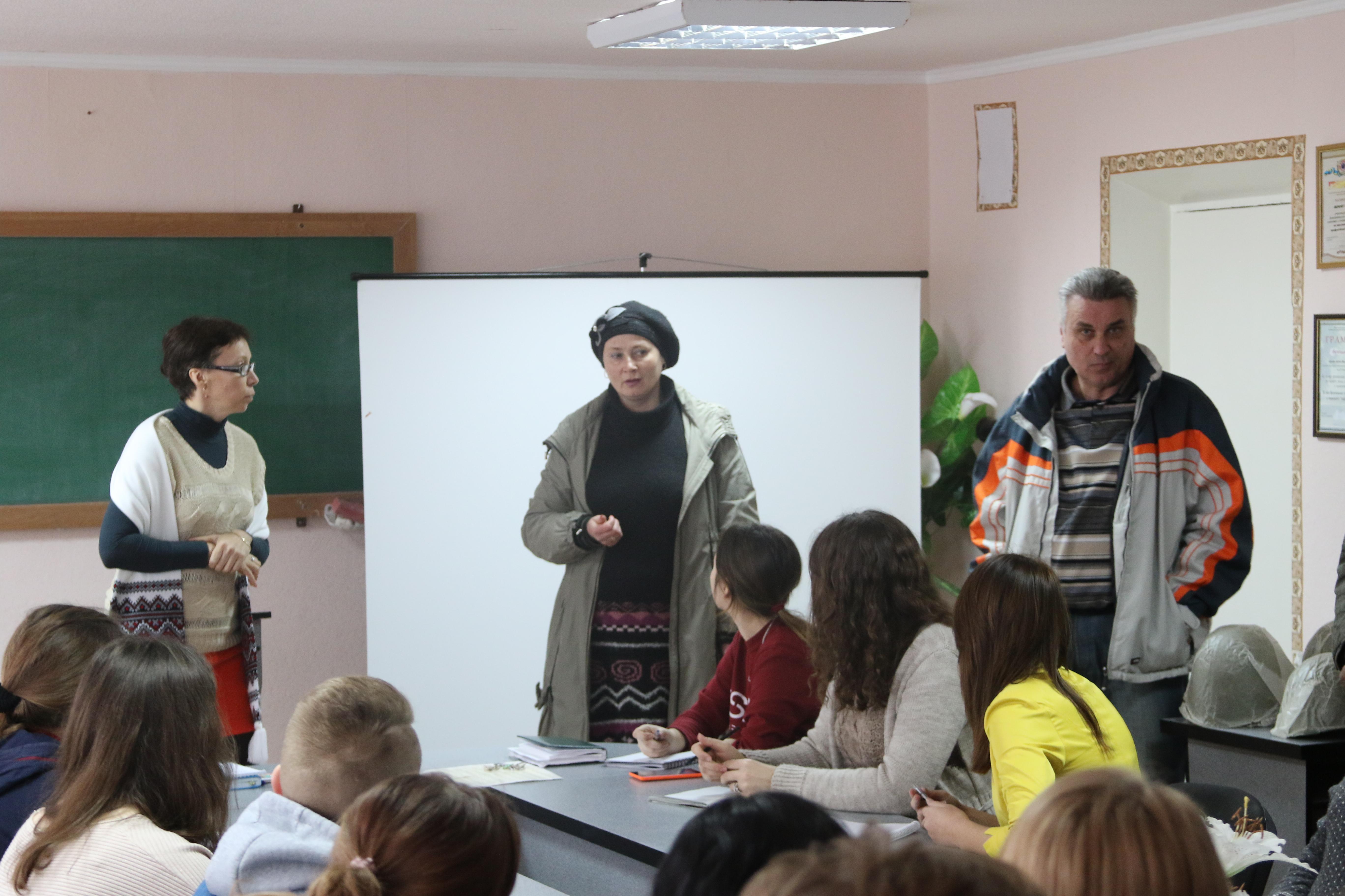 Презентація конкурсу на зібранні студентів
